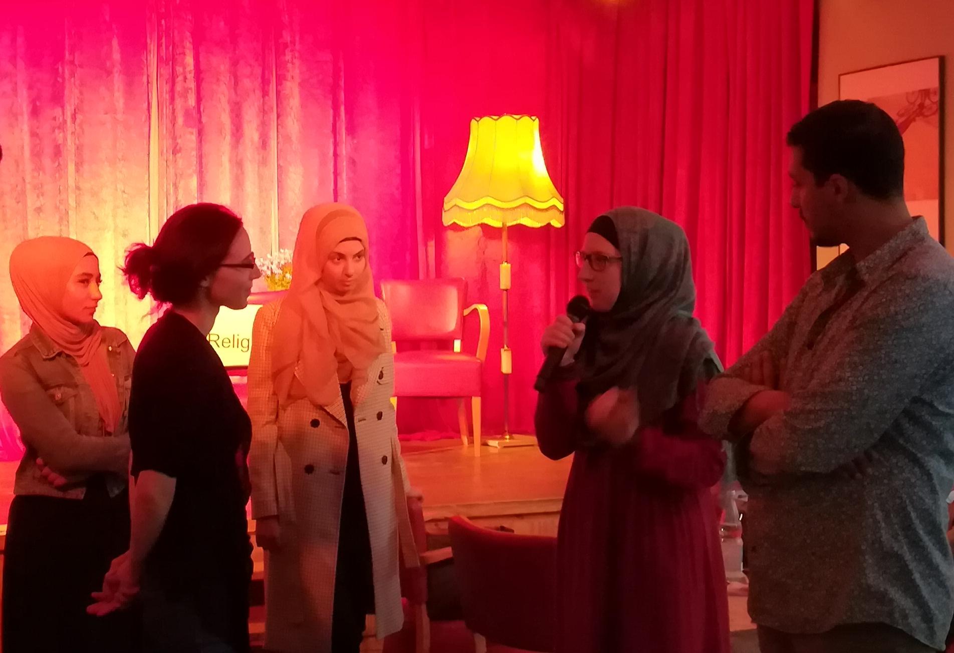 Islam meets LSBTI im Sonntags-Club